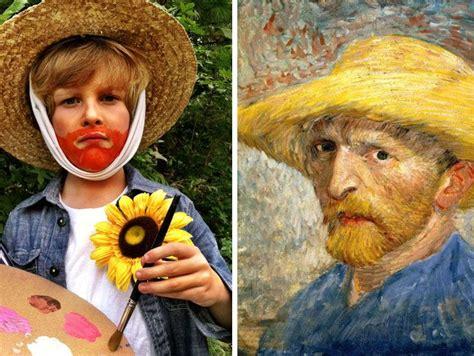 vincent van gogh costume straw hat bandaged ear button