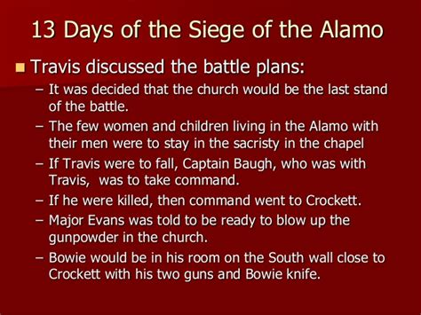 thirteen day siege   alamo