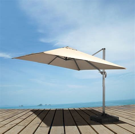 renava eclipse modern patio umbrella w base