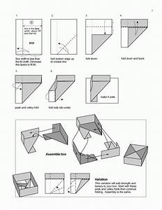 Origami Diagrams Featured In Paper Unlimited