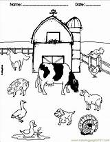 Coloring Barn Printable Adults Popular sketch template
