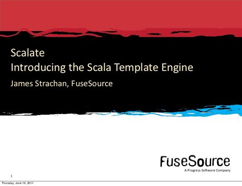 template engine introducing scalate the scala template engine