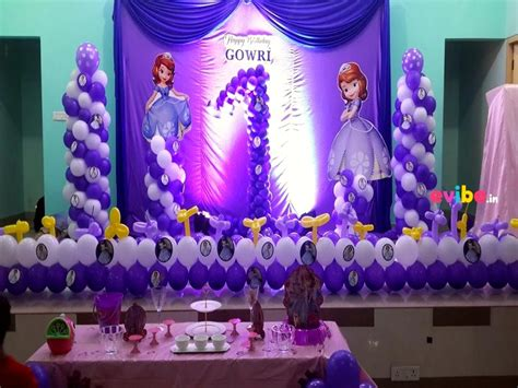 stunning  birthday theme decorations   baby