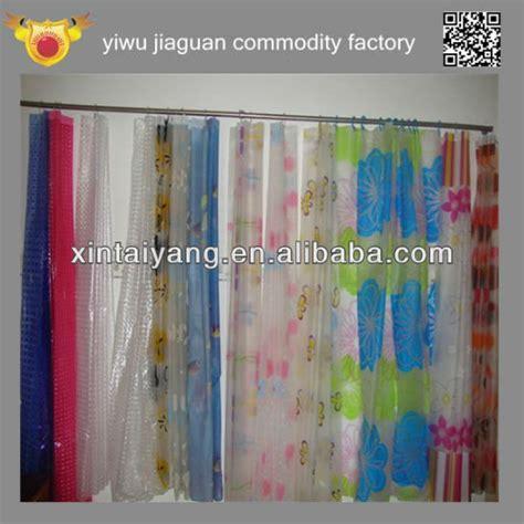 tenda doccia trasparente cinese di plastica trasparente tenda da doccia in pvc