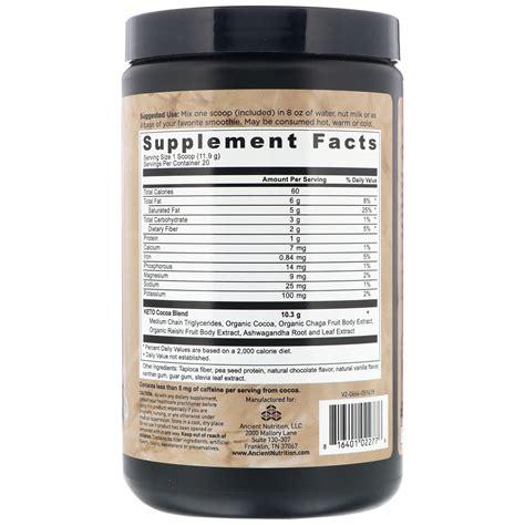 dr axe ancient nutrition keto cocoa