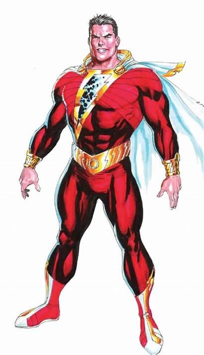 Shazam Comic Marvel Captain Dc Suit Comics