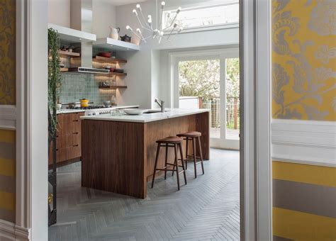 herringbone tile floor kitchen contemporary with accent how to always the most of your herringbone floors