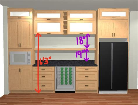 kitchen wine cabinets right height for shelves in kitchen bar area 3489