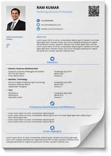 smart  balanced resume  resume format resume
