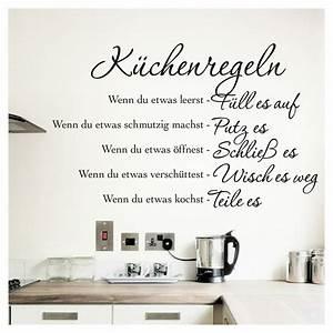 Sprüche Für Die Küche : wandtattoo wandaufkleber wandsticker spr che k che ~ Watch28wear.com Haus und Dekorationen