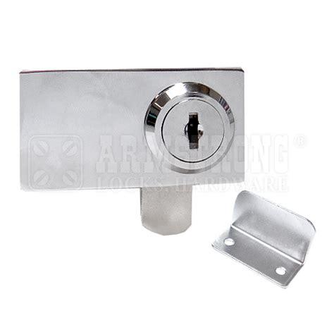 cabinet double swinging glass door lock