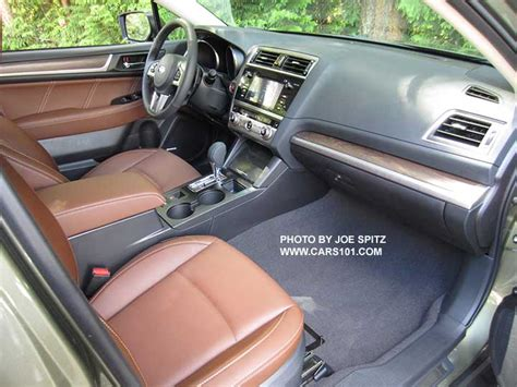 subaru outback touring interior 2016 outback interior photographs and images