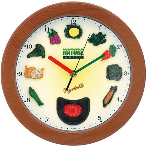 pendule pour cuisine cool horloge murale lgumes pendule murale cuisine u salle