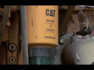 Cat U00ae Wheel Loader Water Separator Information