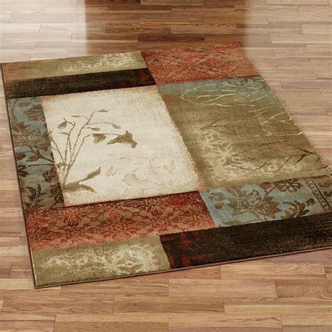 impression leaf area rugs