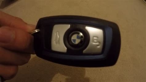 bmw key battery replacement youtube