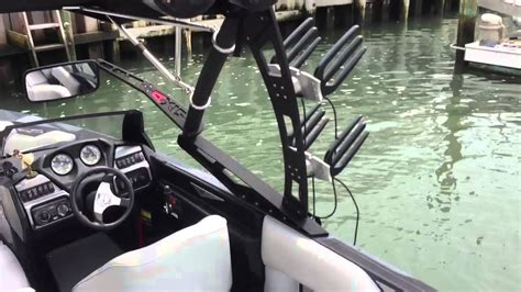 Axis Boats Saltwater by Axis A22 Wakeboard Boat Walkthrough Sold Youtube