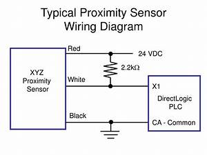 Ppt - Typical Proximity Sensor Wiring Diagram Powerpoint Presentation