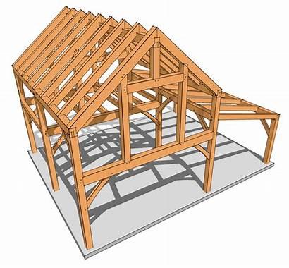 Cabin Plans Frame Loft Timber Moresun Plan