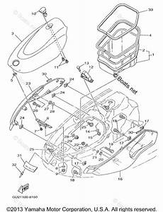 Yamaha Waverunner Parts 1998 Oem Parts Diagram For Engine