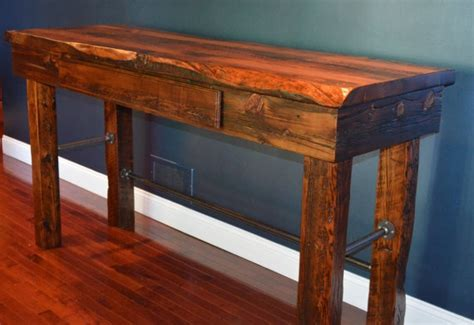 wood stand up desk 17 best images about reclaimed wood desk on pinterest