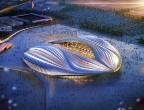 yacht design studium zaha hadid discloses qatar 2022 fifa world cup stadium design