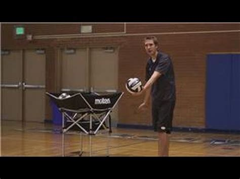 Volleyball  How To Serve A Volleyball Youtube