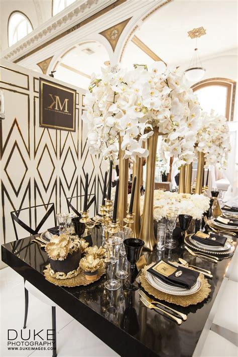 Great Gatsby Black & Gold Glamour Design/Coordination: