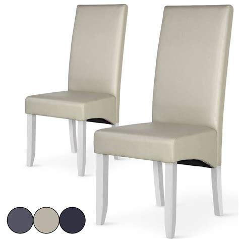 chaise dossier haut haut of chaise en cuir table et chaises