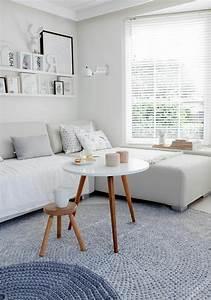 Tapis Scandinave Gris : la table basse scandinave simplicit et beau style ~ Teatrodelosmanantiales.com Idées de Décoration