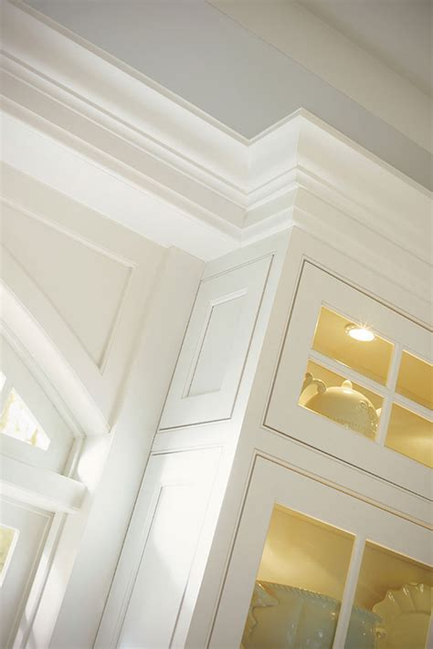 stacked crown moulding decora cabinetry