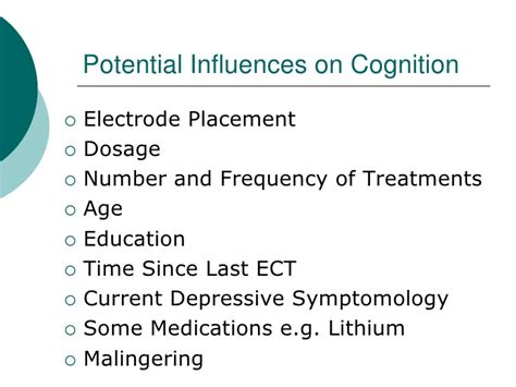 A Review Of Cognitive Outcomes Of Modern Day Ect, Kiri Luther