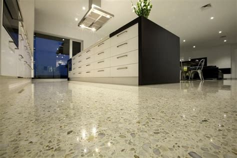polished concrete kitchen floor polished concrete floors for your kitchen can modernize 4302