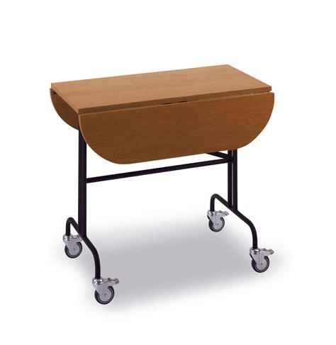 Tisch Zum Klappen by Rollbarer Tisch Klappbar Rollenklapptisch