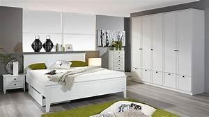 Nachttisch Schrank Weiß : schlafzimmer rosenheim gera bett schrank nachttisch in wei ~ Indierocktalk.com Haus und Dekorationen