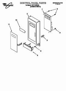 Whirlpool Microwave Oven Parts