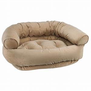 Bowsers platinum collection double donut dog bed for Double donut dog bed