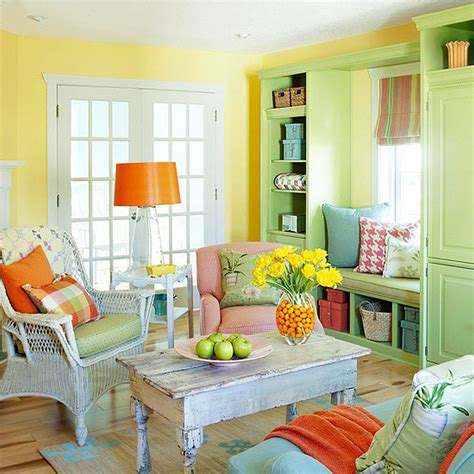 Colorful Rooms by Vivacious Colorful Living Rooms And Comfort Ideas