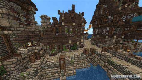medieval village map   minecraft