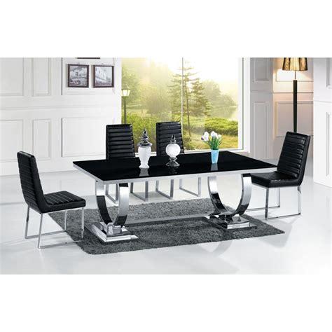 canapé angle moderne table de salle à manger en inox venezia mabre ou verre