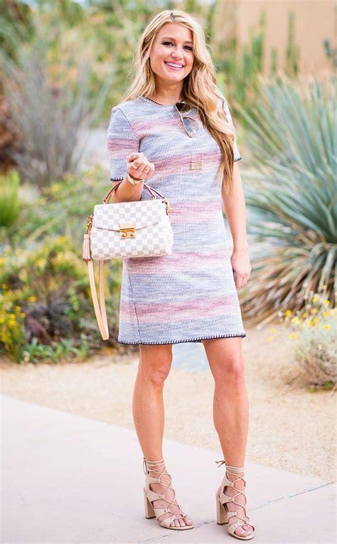 topshop knit dress louis vuitton croisette gucci aviators striped dress ivanka trump shoes
