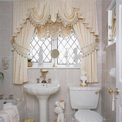Modern Bathroom Window Curtains Ideas