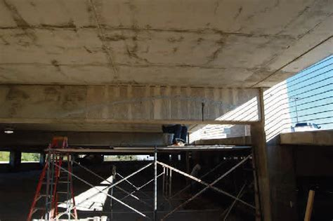 Methodist Hospital Garage Post Tension Beam Repair