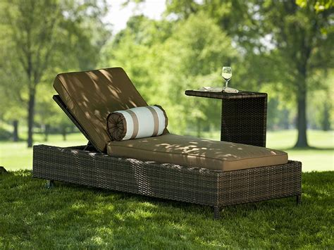 chaise en nevis all weather resin wicker chaise lounge 1211