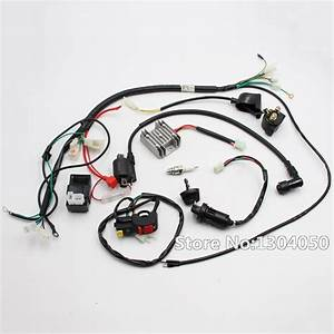 Complete Electrics Wiring Harness Cdi Ignition Coil Switch