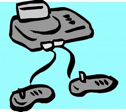 Console Clipart Clip Controller Games Cartoon Illustration