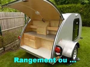 Fabriquer Mini Caravane : alpina caravanette teardrop mini caravane youtube ~ Melissatoandfro.com Idées de Décoration