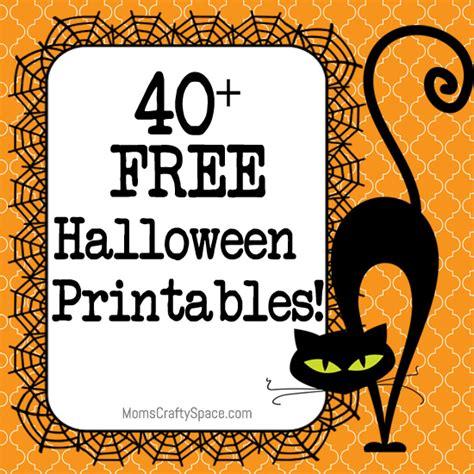 halloween printables happiness  homemade