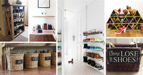 Foyer Storage Ideas by 19 Best Entryway Shoe Storage Ideas And Designs For 2019
