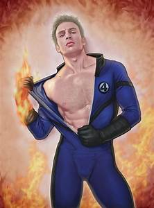 "Johnny Storm AKA ""The Human Torch"" 